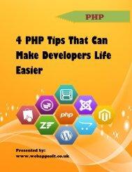 4 PHP Tips That Can Make Developers Life Easier