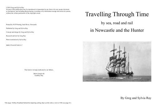 Travelling Through Time by sea, road and rail in Newcastle and the Hunter