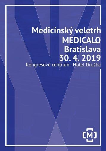 Booklet Medicínský veletrh Medicalo Bratislava