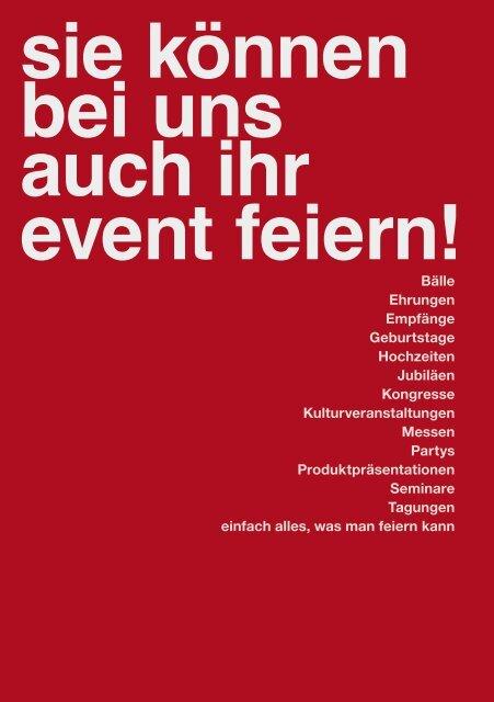 Stadthalle Gifhorn - Die Eventlocation