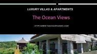 The Ocean Views is a brand new development of luxury villas and apartments