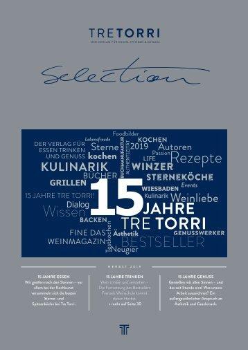 Tre Torri Verlagsprogramm - Selection - Herbst 2019