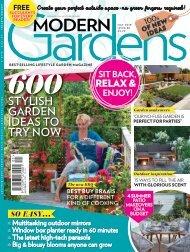 Modern Gardens May