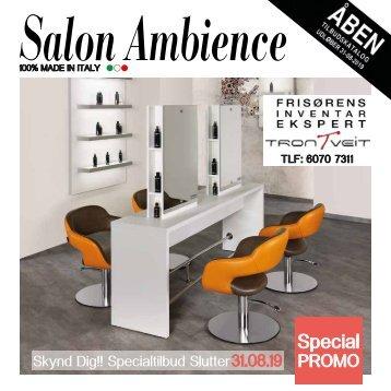 Salon Ambience tilbudskatalog maj - trontveit