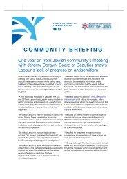 Board of Deputies Community Briefing 25th April 2019-compressed-2 copy copy copyredact copy2