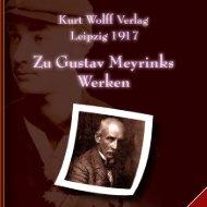 Gustav Meyrinks Werke