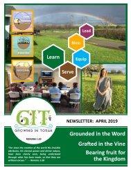 GIT Newsletter [1804] - April 2019