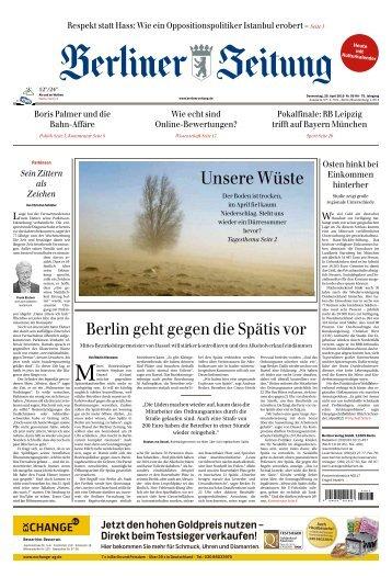 Berliner Zeitung 25.04.2019
