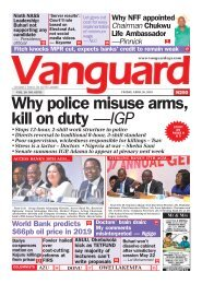 26042019 - Why police misuse arms, kill on duty —IGP