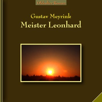 Gustav-Meyrink Meister Leonhard