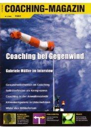 Mit Coaching durch schwierige Zeiten - HOEHER – Holistic ...