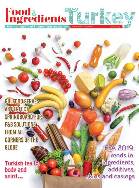 Food & Ingredients Turkey April 2019