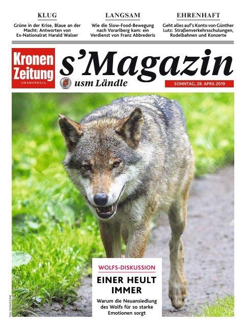 s'Magazin usm Ländle, 28. April 2019