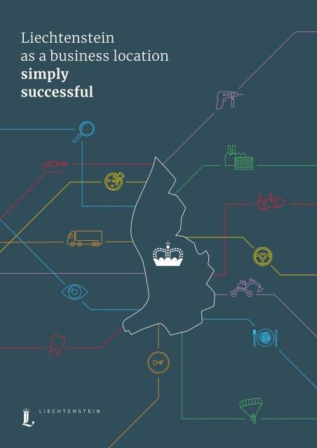 "Magazine ""Liechtenstein as a business location - simply successful"""