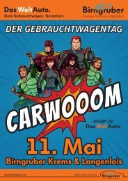 CARWOOOM Gebrauchtwagentag 11. Mai 2019