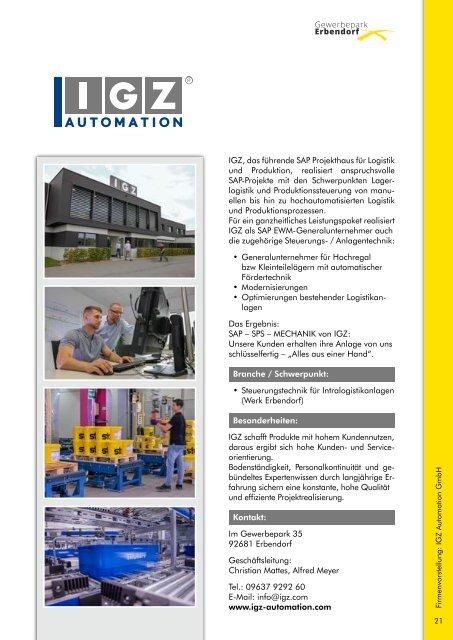 Tag der offenen Betriebe in Erbendorf 2019