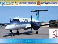 Classy Air Ambulance Service in Ranchi by Sky