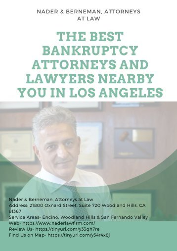 The Best Bankruptcy Attorneys and Lawyers Near Me