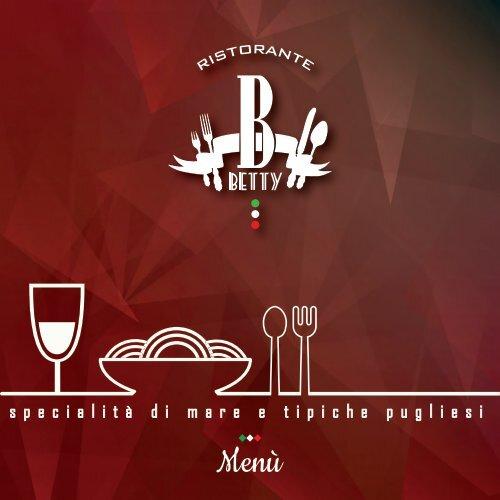 Menù bar betty 2019-01
