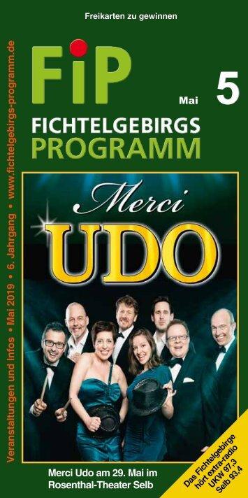 Fichtelgebirgs-Programm - Mai 2019