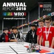 WRO Annual report 2018