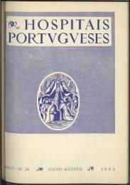 Hospitais Portugueses ANO V n.º 24 julho-agosto 1953
