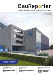 Baureporter Ausgabe 3 - Onlineausgabe