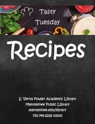 Tasty Tuesday Recipe Book