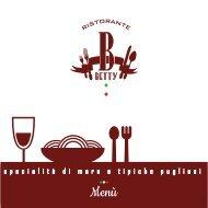 Menù bar betty 2019-02