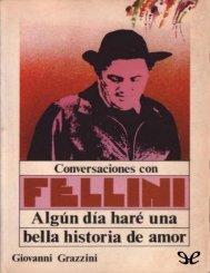 Conversaciones con Fellini- Giovanni Grazzini