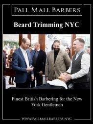 Beard Trimming NYC