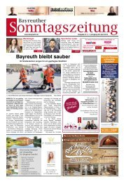 2019-04-28 Bayreuther Sonntagszeitung
