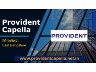 Best Prelaunch Apartments in Whitefield Bangalore