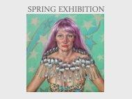 Spring Exhibition Catalogue