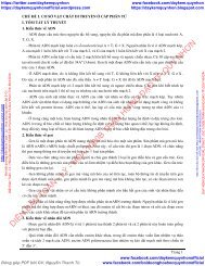 Chinh Phục câu hỏi lý thuyết sinh học theo chủ đề - Phan Khắc Nghệ