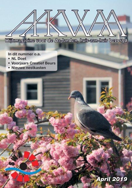 Wijkblad Aakwaa april 2019