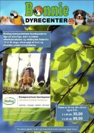 BONNIE DYRECENTER - TILBUDS KATALOG APRIL 2019