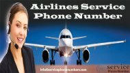 Airlines Service Phone Number Helpline for Exclusive Deals