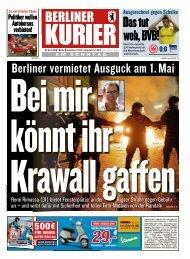 Berliner Kurier 28.04.2019