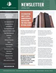 Douglas Wilson Companies Spring 2019 Newsletter