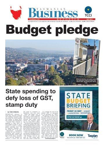 Tasmanian Business Reporter May 2019