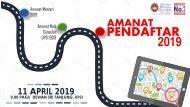 AMANAT PENDAFTAR 11 April 2019