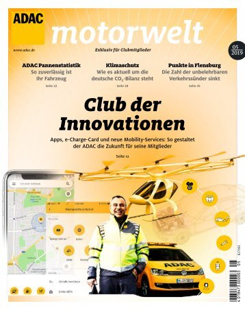 ADAC Motorwelt Mai 2019