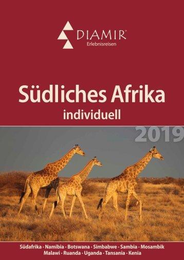 DIAMIR Südliches Afrika Katalog 2019