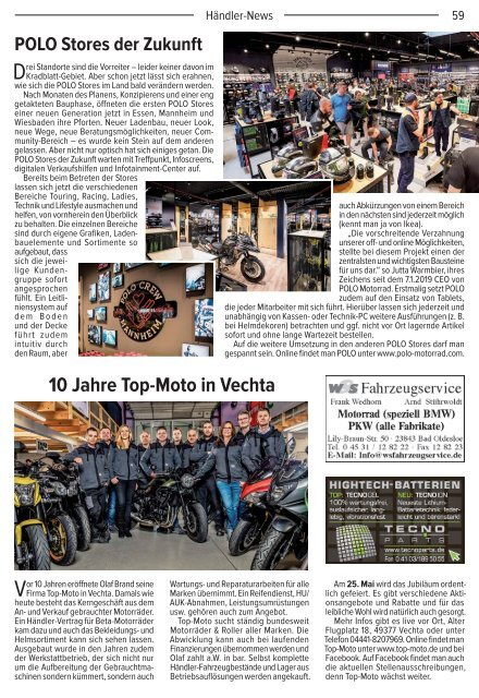 Kradblatt Ausgabe Mai 2019