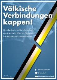 Die akademische Burschenschaft Markomannia Wien zu Deggendorf im Netzwerk der Neuen Rechten