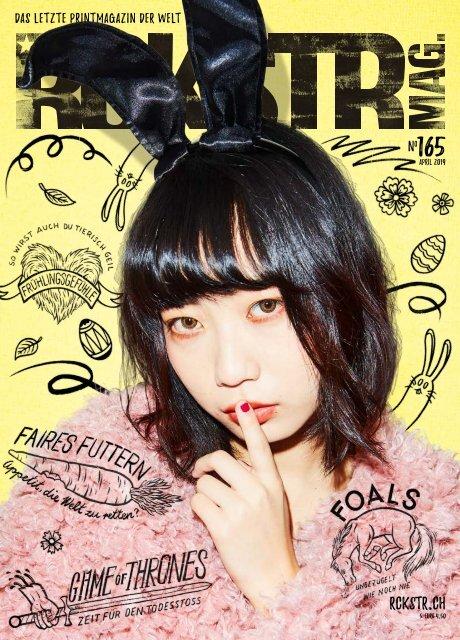 RCKSTR Mag.  #165 April 2019