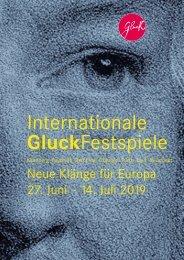 Internationale Gluck-Festspiele 2019 - Festspielmagazin