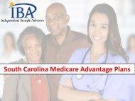 South Carolina Medicare Advantage Plans