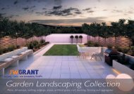 JW Grant - Garden Landscaping Collection